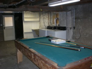 1007 S Main Basement