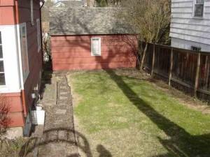 1200 NE Monroe Backyard